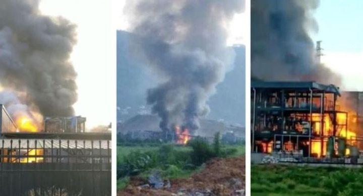 19 Orang Tewas dalam Ledakan Pabrik Kimia di China